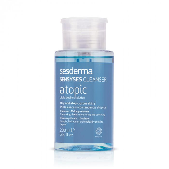 Лосьон липосомальный для снятия макияжа для чувствительной кожи SENSYSES Atopic