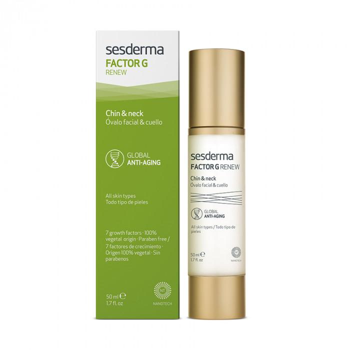 Омолаживающее средство для овала лица и шеи FACTOR G RENEW Oval face & neck
