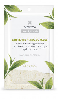 GREEN TEA THERAPY Маска увлажняющая для лица